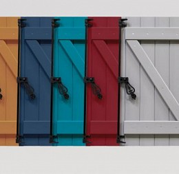 Okenice v různých odstínech