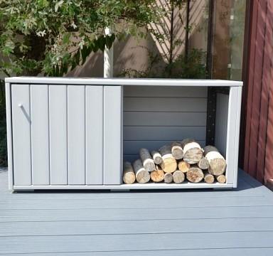 Zahradní odkládací box na dřevo