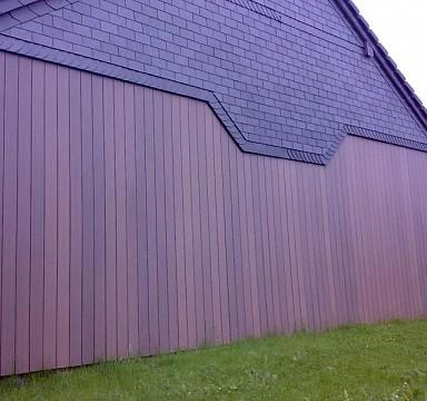 Fasádní obložení stodoly