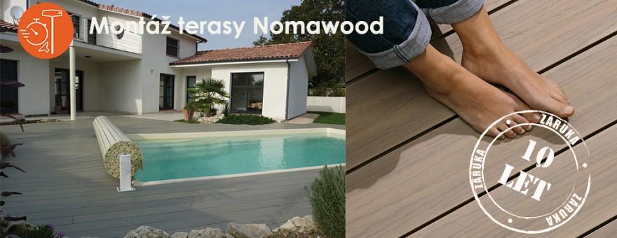 Montáž terasy Nomawood